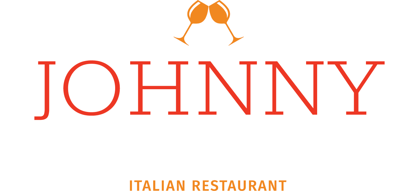 Johnny Cascones Logo Full Color White Box