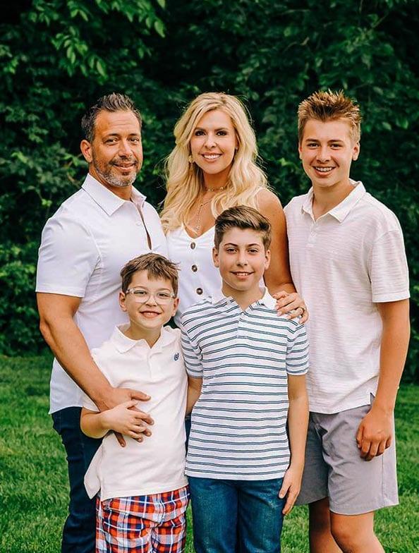 Johnny Cascones Family Portrait
